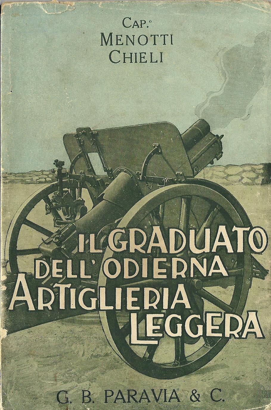 Il graduato dell'odierna artiglieria leggera