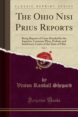 The Ohio Nisi Prius Reports, Vol. 7