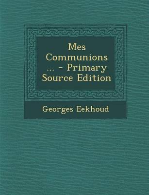 Mes Communions ... -...