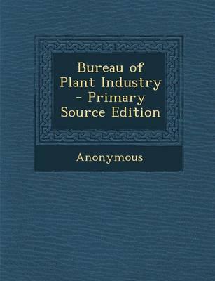 Bureau of Plant Industry