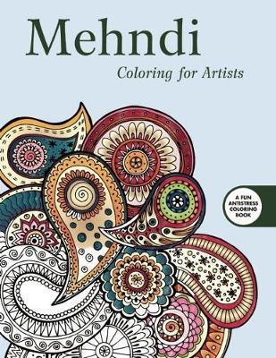 Mendhi Adult Coloring Book