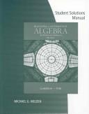 Student Solutions Manual for Gustafson/Frisk's Beginning and Intermediate Algebra