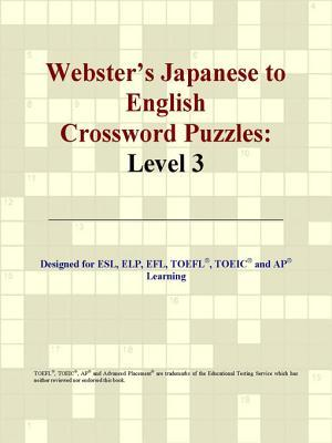 Webster's Japanese to English Crossword Puzzles