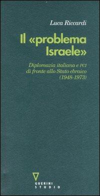 Il «problema Israele»