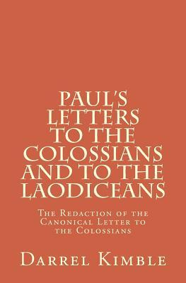 Paul's Letters to the Colossians and to the Laodiceans