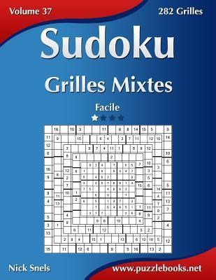Sudoku Grilles Mixtes Facile 282 Grilles