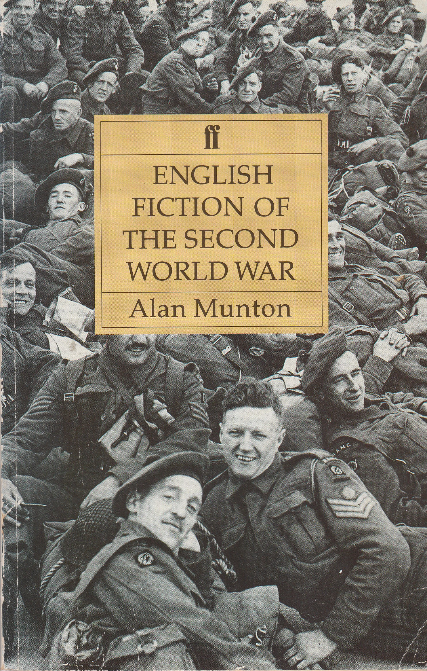 English Fiction of the Second World War
