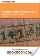 Complex Functions Examples c-7