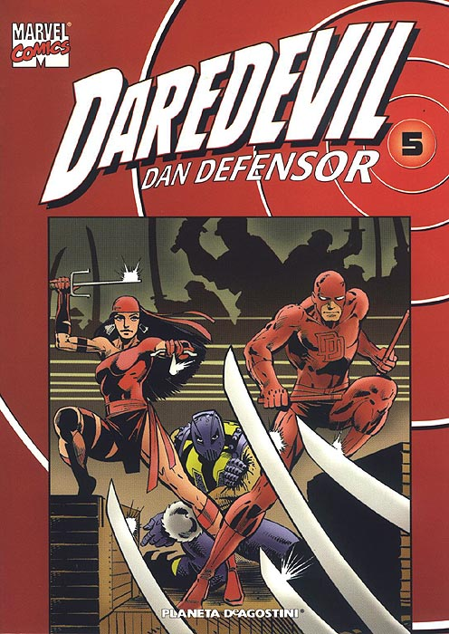Coleccionable Daredevil/Dan Defensor Vol.1 #5 (de 25)