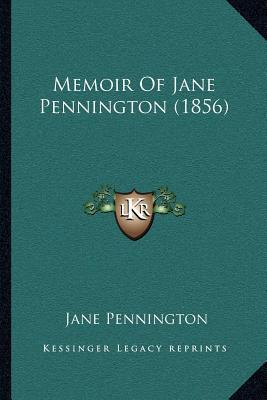 Memoir of Jane Pennington (1856)