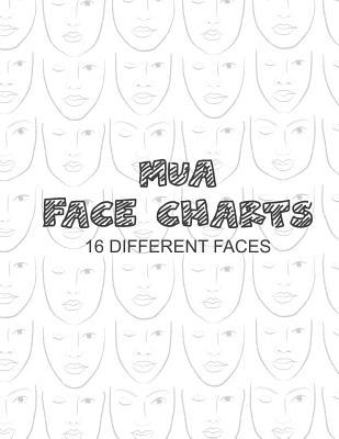 Mua Face Charts 16 Different Faces
