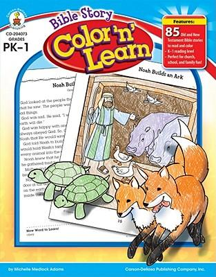 Bible Story Color 'n...