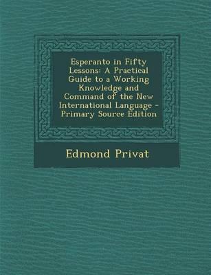 Esperanto in Fifty Lessons