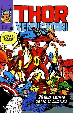 Thor e i Vendicatori (Il Mitico Thor) n. 172