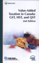 Value-Added Taxation in Canada
