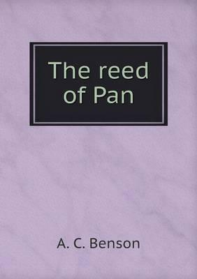 The Reed of Pan