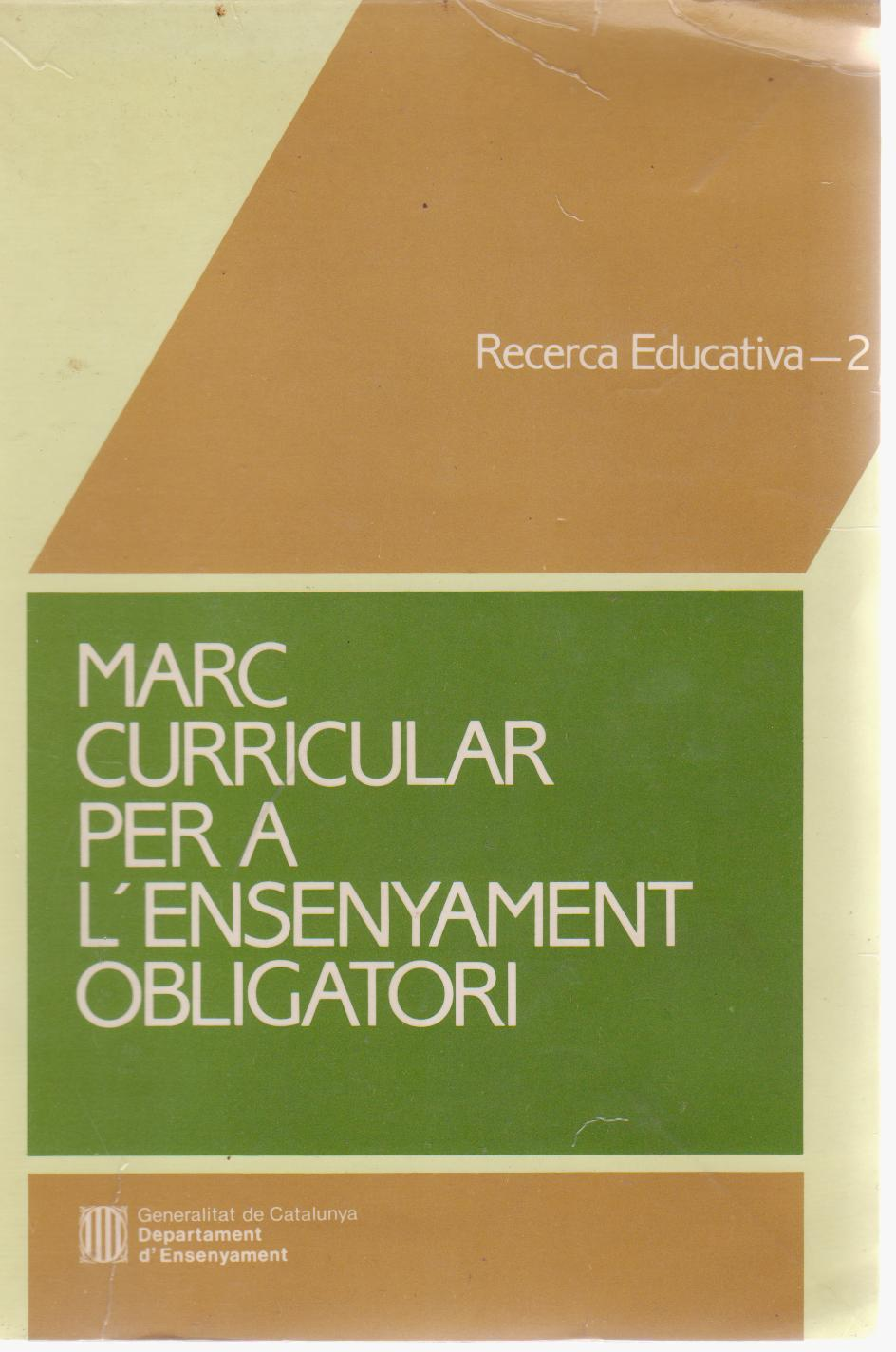 Marc curricular per a l'ensenyament obligatori