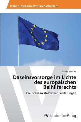 Daseinsvorsorge im Lichte des europäischen Beihilferechts
