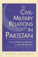 Civil-military Relations in Pakistan
