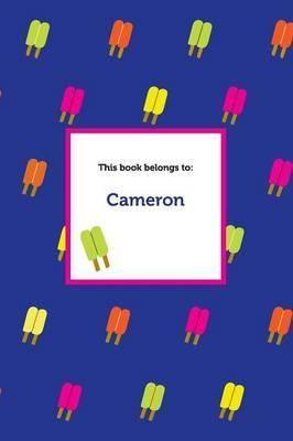 Etchbooks Cameron, Popsicle, Wide Rule