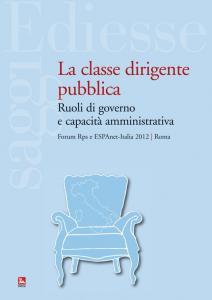 La classe dirigente pubblica