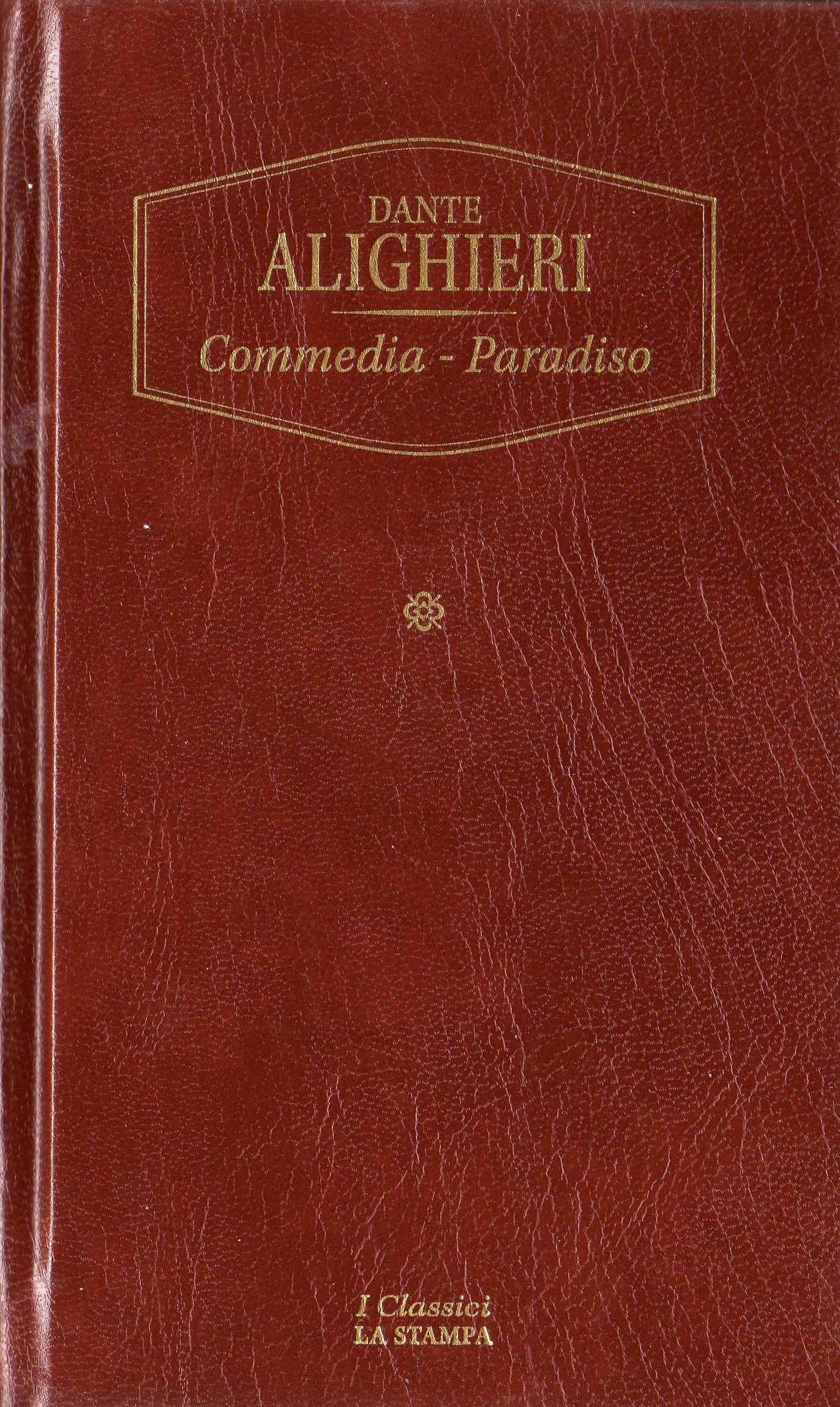 Commedia - Paradiso