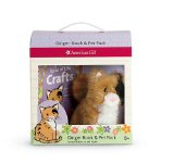 Ginger Book & Pet Package [With Plush Kitten]