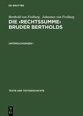 Die Rechtssumme Bruder Bertholds