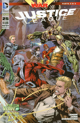 Justice League n. 25
