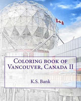 Coloring Book of Vancouver, Canada