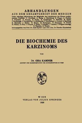 Die Biochemie Des Karzinoms