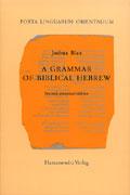 A grammar of biblical Hebrew
