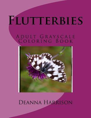 Flutterbies Coloring Book