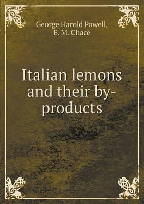 Italian Lemons and Their By-Products