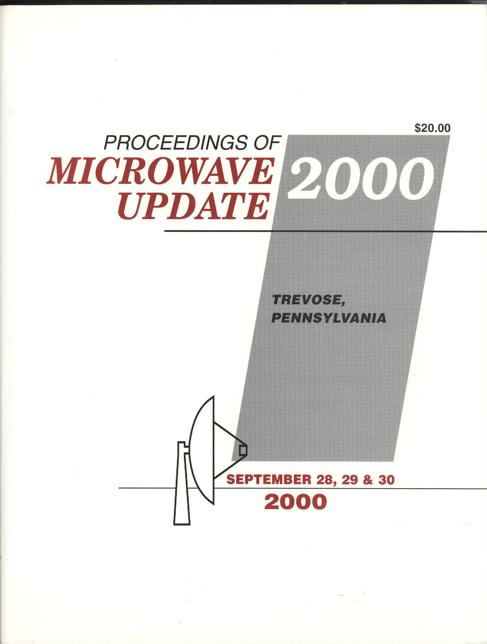 Proceedings of Microwave Update 2000