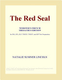 The Red Seal (Webster's French Thesaurus Edition)