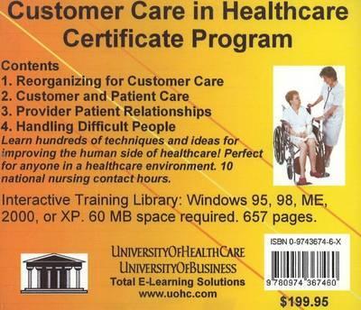 Customer Care in Healthcare Certificate Program