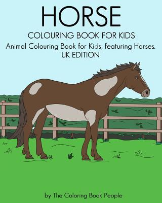 Horse Colouring Book for Kids
