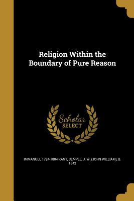 RELIGION W/IN THE BOUNDARY OF