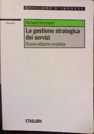 La gestione strategica dei servizi