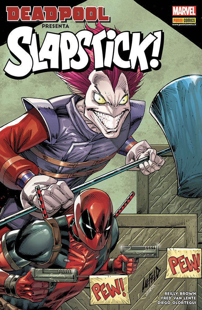Deadpool presenta: Slapstick