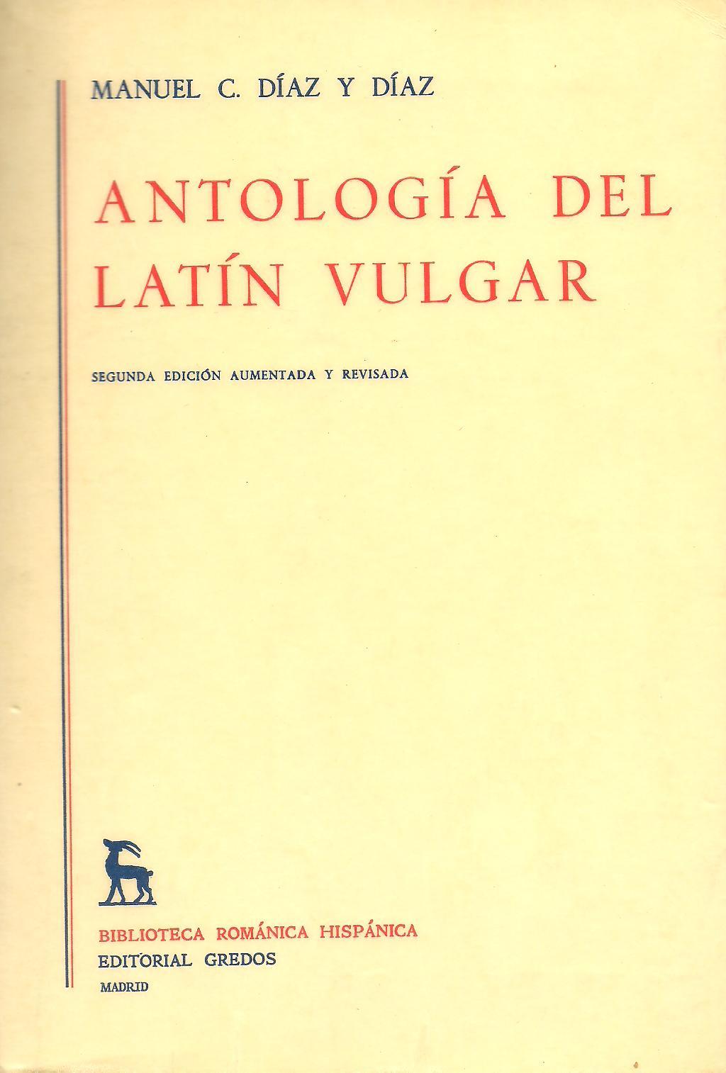 Antología del latín vulgar