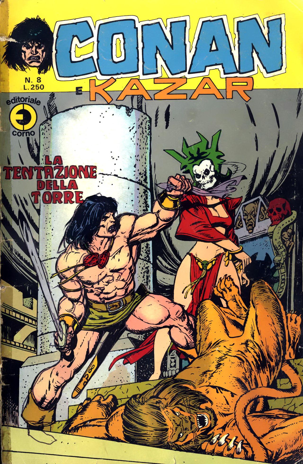 Conan e Ka-zar n. 8