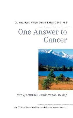 One Answer to Cancer