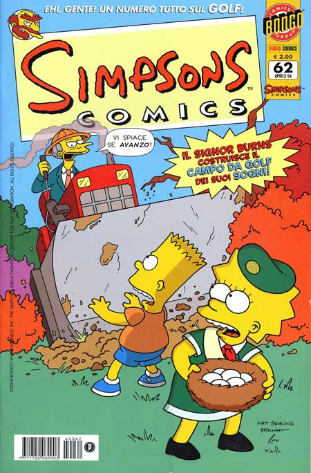 Simpsons Comics n. 6...