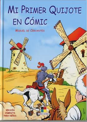 Mi primer Quijote en comic