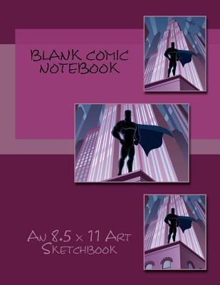 Blank Comic Notebook