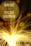 Qualities for Effective Leadership