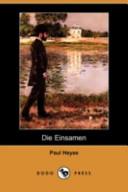 Die Einsamen(Dodo Press)