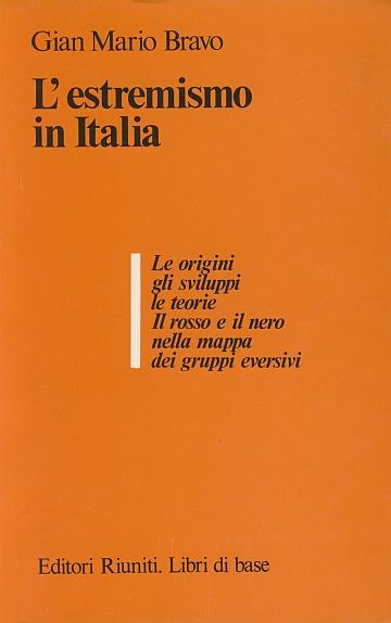 L'estremismo in Italia